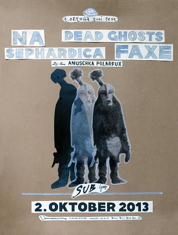 Poster für das Tortuga Soli Fest am 02.10.2013
