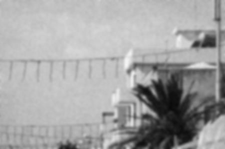 """Auschnitt der Titelseite des Buches """"Lampedusa. Begegnungen am Rande Europas"""" von Gilles Reckinger"""