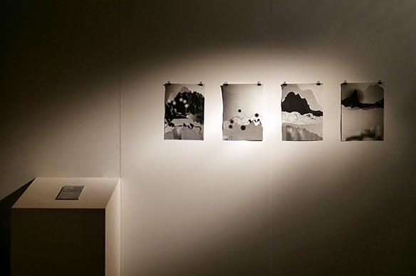 Ausstellungsansicht: Eine Ampelsinfonie von Marie Fegerl