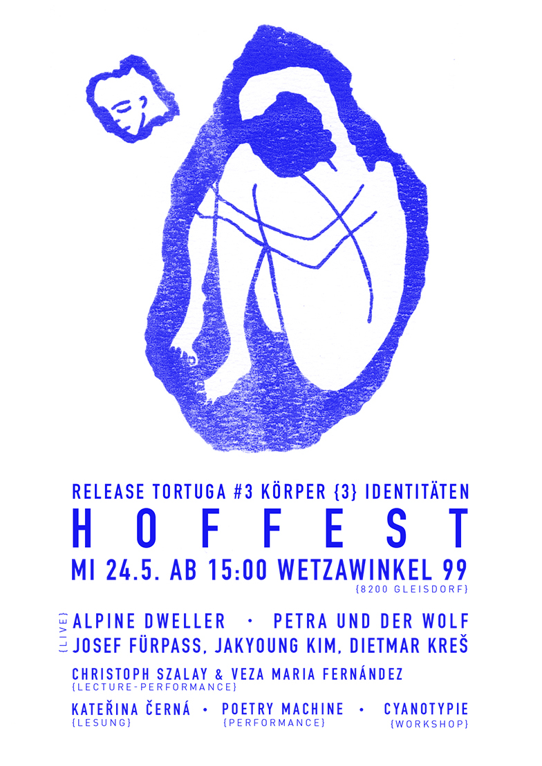 "Poster Hoffest 24.05. - Grafik ""Isolated"" von Julia Romana Potocnik"