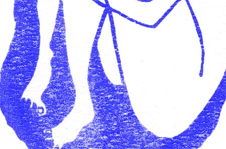 """Ausschnitt aus der Grafik """"isolated"""" von Julia Romana Potocnik"""
