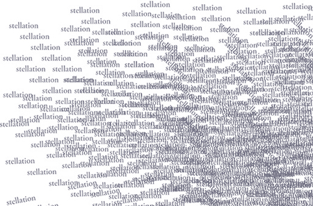 Stellation - eine Seite mit Downloadcode aus dem Heft Tortuga #3 {4} innenaußen, Grafik: Elisabeth Pressl